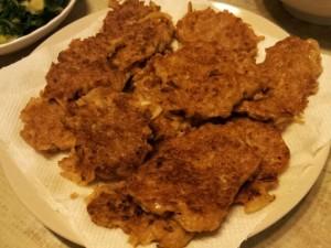 洋蔥牛肉薯絲餅 by SY Lai