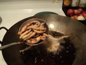 酥炸魷魚鬚 7