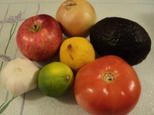 牛油果蘋果蕃茄沙律 1