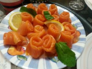 Salmon Rose 11