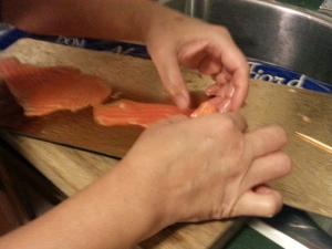Salmon Rose 5