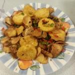 蒜片椒鹽玉子豆腐20