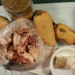 蓮藕炆豬腩肉 1