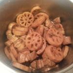 蓮藕炆豬腩肉 14