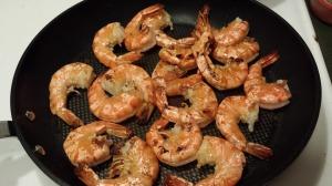 乾煎大蝦 1