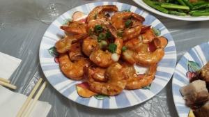 乾煎大蝦 2