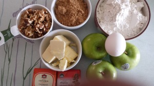 Apple Watnut Cake 1