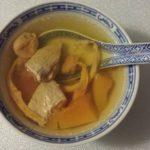 木瓜瘦肉日月魚燉湯 12