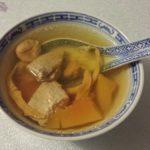 木瓜瘦肉日月魚燉湯