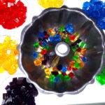 Rainnow Confetti Coconut Mould 16